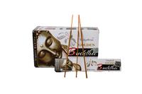 """Благовоние пыльцовое Golden Buddha-Золотой Будда (""""Vijayshree""""), 15 гр, 12 шт. в коробке (б-31-24)"""