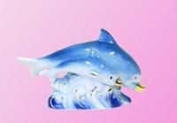 Фарфоровые фигурки: дельфины (фф-43)
