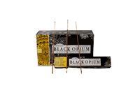 Благовоние пыльцовое Black Opium-Чёрный Мак /Опиум , (Deepika), 15 гр, 12 шт/уп (б-03-09)
