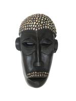 Маска африканская ритуальная, племя Маконда, дерево цейба (мэ-24-13)