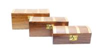 Набор шкатулок шишам: сундуки (ш-140, ш-141, ш-142)
