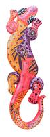 Ящерица цветная, 5 цветов (я-18)