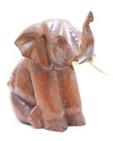 Слон суара сидит, задние лапы подогнул к передним, 2 цвета (сс-76)