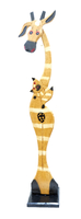 Жираф с котенком (ж-54)