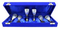 Набор рюмок в синей коробке (нр-73)