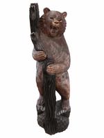 Медведь стоит с деревом обнявшись (мс-10)