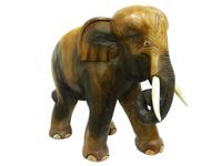 Слон манговый хобот закручен вниз (см-34)