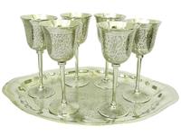 Набор фужеров для вина с рисунком, 3 вида (нр-14)