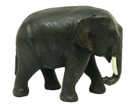 Слон тиковый идущий, хобот вниз (ст-23)
