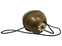Сумка кокосовая с ракушкой (кс-15)