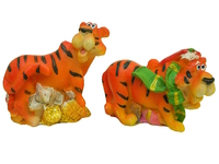 Тигр из полистоуна, 4 вида, Китай (тк-08)