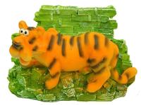 Тигр керамический с деньгами, 2 вида (тк-12)