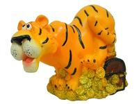 Тигр керамический на монетах - копилка (тк-07)