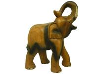 Слон манговый, хобот закручен вверх (см-30)