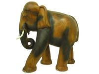Слон манговый, хобот закручен вниз (см-35)