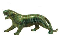 Бронзовый тигр с патиной (бт-02)