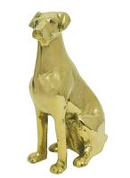 Собака латунная (сл-19)