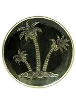 Тарелка с пальмами (тл-07)