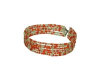 Украшения масаев: браслеты из бисера, 7 видов (му-03)