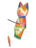 Кот-рыбак цветной (к-161)