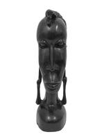 Голова масаи, дерево эбен (гэ-07)