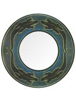 Солнышко: зеркало с ящерицей, 4 цвета (си-57)