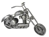 Арт: металлический мотоцикл, 4 вида  (ам-21)