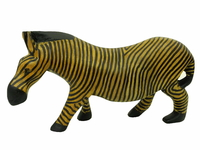 Зебра из тика, Кения (зэ-07)