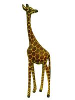 Жираф из тика, Кения (жэ-24)