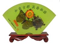Бабочка и черепаха под стеклом (но-05)