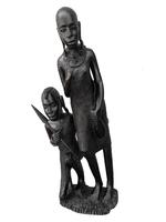 Фигуры эбеновые: семья масаев (фэ-51)