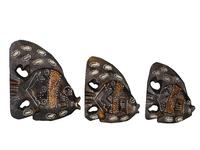 Набор коричневых рыб (р-319, р-320, р-321)