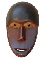 Маска африканская ритуальная, племя Маконда, дерево цейба (мэ-24-09)