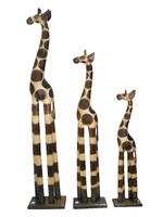 Набор жирафов, цвет натуральный (ж-46, ж-47, ж-48)