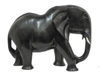 Слон, хобот вниз, дерево эбен (сэ-25)