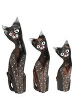 Набор небольших котов, 6 цветов (кн-165, кн-166, кн-167)