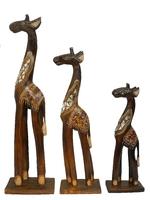 Набор коричневых жирафов (жн-35, жн-36, жн-37)