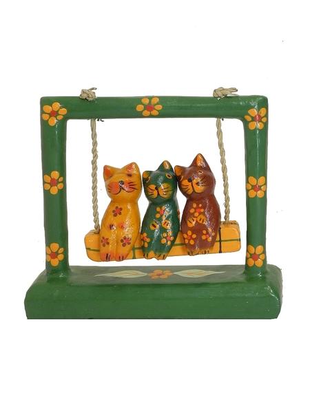 Три кота катаются на качели (кн-39)