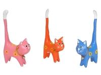 Котик под кольца с колокольчиком и волнистым хвостиком, 6видов (кк-60