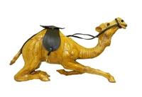 Кожаный верблюд лежащий (кж-64)