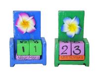 Календарь маленький с цветком (ка-32)