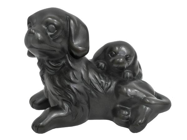 Резинг: спаниель со щенком (р-497)