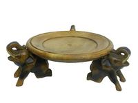 Три слона держат тарелку (см-61)