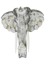 Маска слона, белая (мс-15)