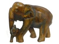 Слон манговый со слоненком (см-57)