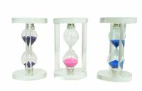 Часы песочные пластиковые прозрачные (чп-11)