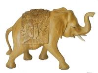 Слон суара с резьбой, хорошая работа (сс-94)