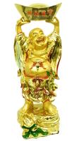 Хотей золотой стоит на мешке, в руках держит чашу (хз-12)