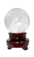 Хрустальные изделия: глобус на подставке (хи-12)