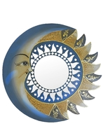 Солнышко с месяцем и зеркалами, 3 цвета (си-106)